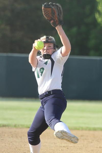 Lowell vs Lowell Catholic softball. (SUN/Julia Malakie)