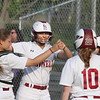 Lowell vs Lowell Catholic softball. (SUN/Julia Malakie)