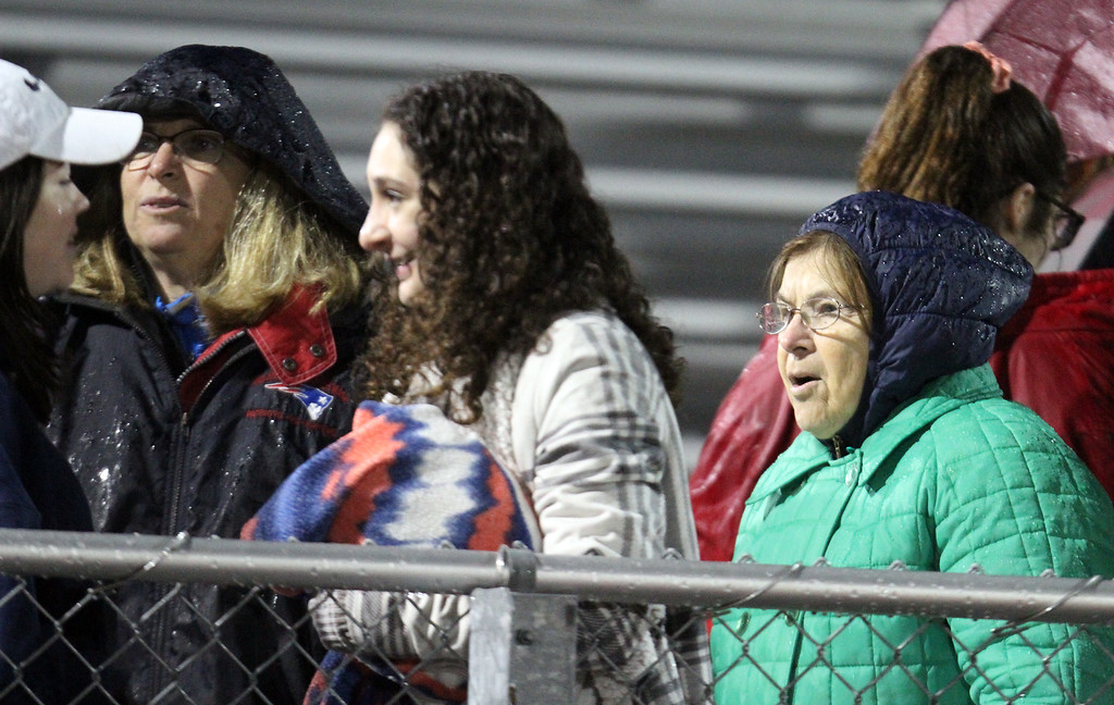 . Faces in the Crowd: Nashoba Tech vs St. Mary\'s of Lynn football in MIAA Division 7 North championship. (SUN/Julia Malakie)