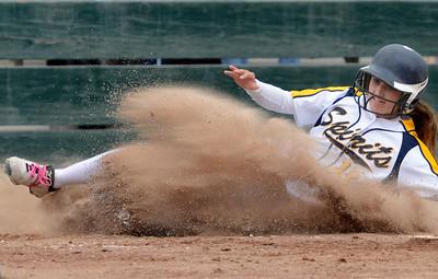 Notre Dame vs Burlingame softball 052315