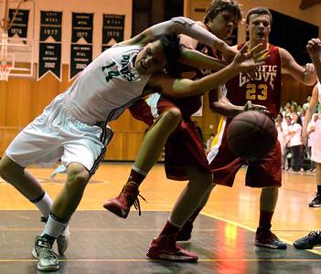 PG vs. Stevenson Boys Basketball 011814