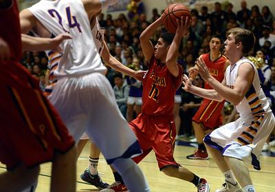 Palma at Salinas Basketball 022114