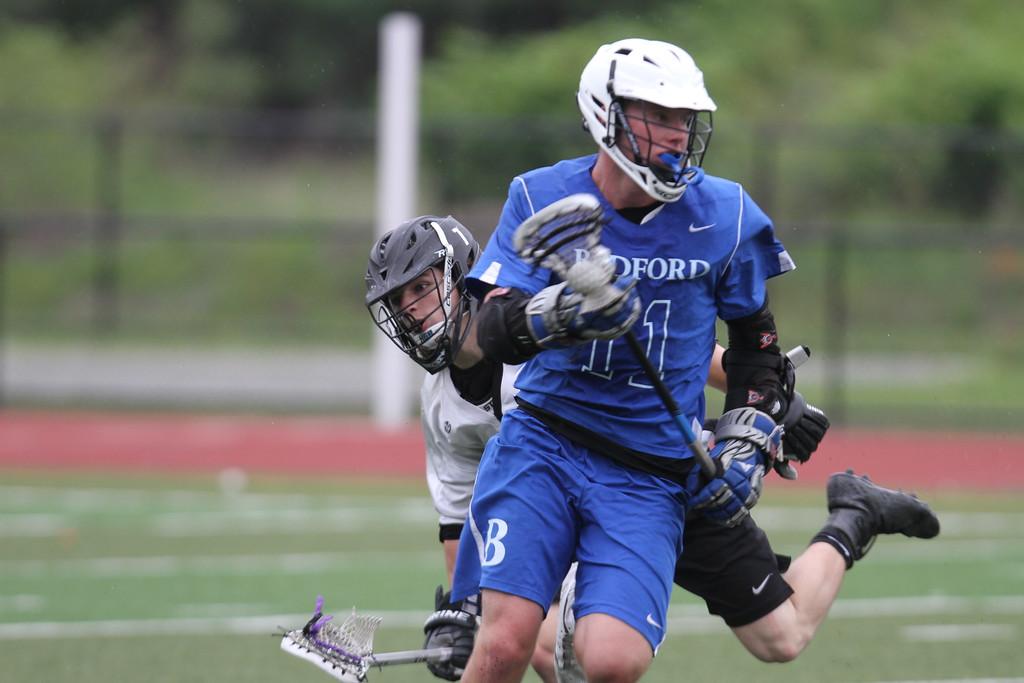 . Shawsheen Tech vs Bedford lacrosse. (SUN/Julia Malakie)