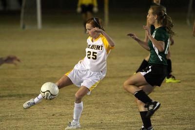 2011-2012 GHS Girls Soccer vs Mesa Skyline 01-05-12