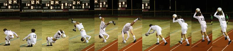 2014-2015 GHS Boys Soccer vs Skyline 1-27-15