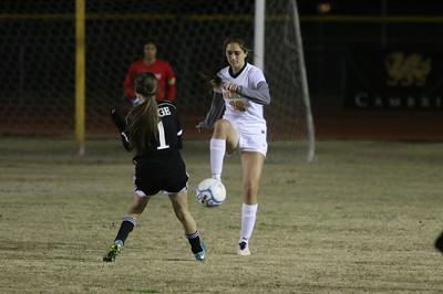 2016-2017 Gilbert Girls Soccer vs Mountain Ridge 1-26-17 State Tournament