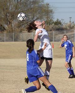 2010-2011 GHS Girls Soccer vs Mesquite