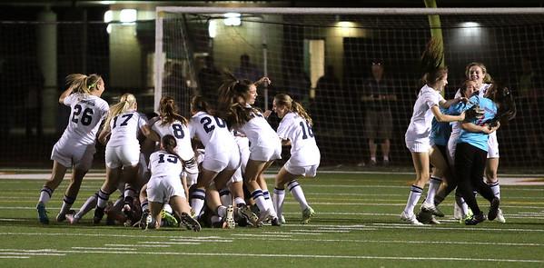 2015-2016 Girls Soccer - Desert Vista vs Hamilton - State Championship 2-13-16