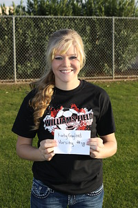 2011-2012 Williams Field Girls Soccer Names