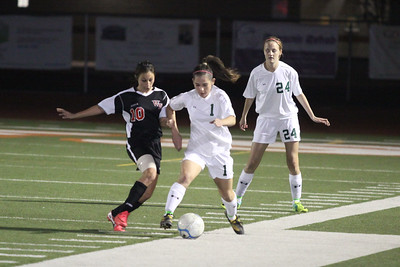 2011-2012 Campo Verde Girls Soccer vs Williams Field 11-29-11