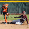 LC gets the force out at 2nd base