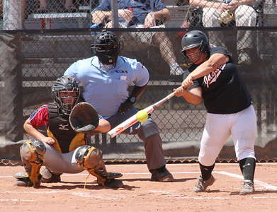 2015 Desert Ridge Softball vs Perry 5-2-15 State Round 1