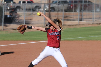 2015 Gilbert Softball vs Desert Ridge 4-13-15