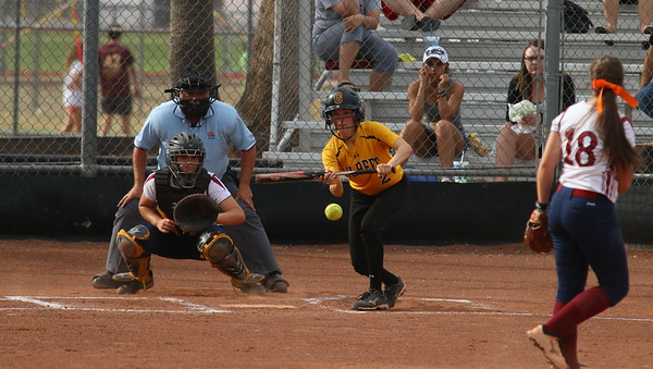 2015 Gilbert Softball vs Perry 3-30-15