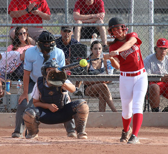 2015 Williams Field Softball vs Higley 4-6-15
