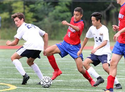 Tewksbury Andover soccer 090818