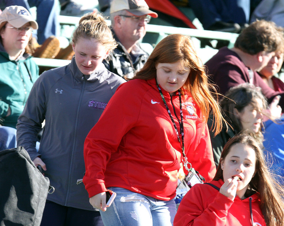 . Faces in the Crowd: Tewksbury vs Beverly football.  (SUN/Julia Malakie)