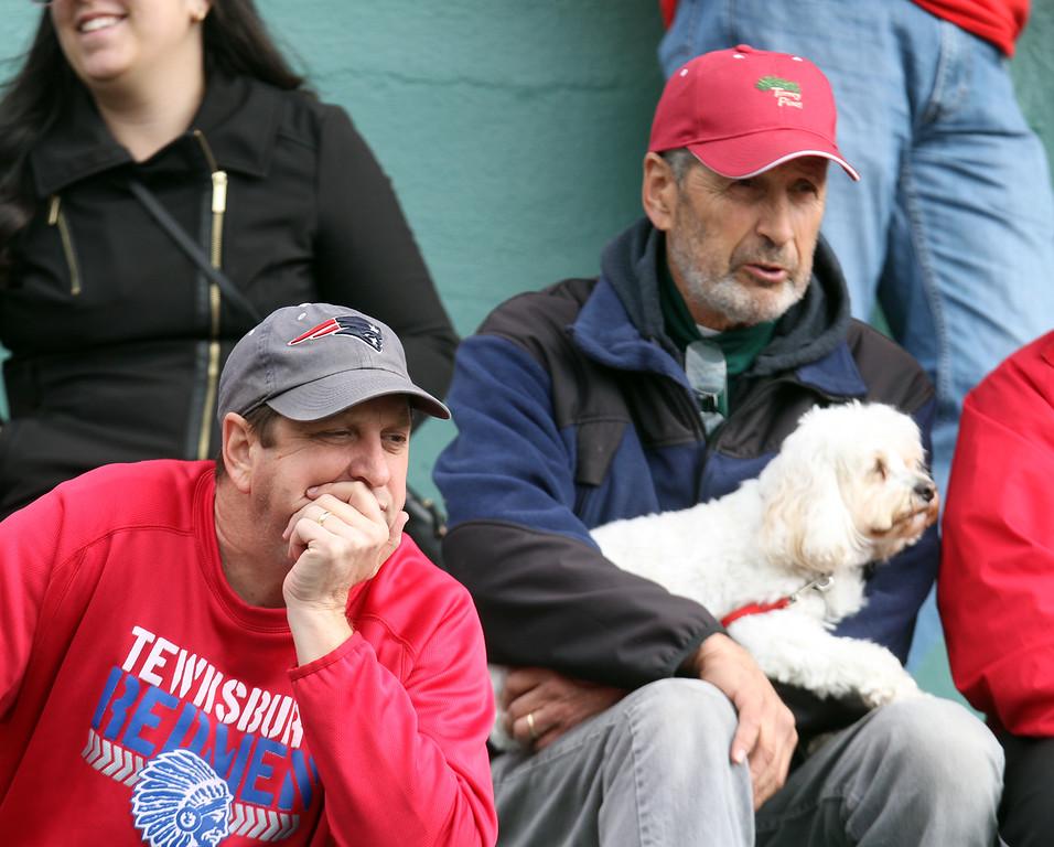 . Faces in the Crowd: Tewksbury vs Dracut football. (SUN/Julia Malakie)