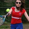 Tewksbury vs Notre Dame Academy girls tennis. Tewksbury 1st Singles Sydney Crowley. (SUN/Julia Malakie)