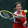 Tewksbury vs Notre Dame Academy girls tennis. Tewksbury 3rd Singles Caitlyn Hickey. (SUN/Julia Malakie)