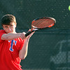 Tewksbury vs Lowell boys tennis. Tewksbury 1st Singles Alek Cranston. (SUN/Julia Malakie)
