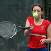 Tewksbury vs Notre Dame Academy girls tennis. Tewksbury 2nd Singles Alexia Chesbrough. (SUN/Julia Malakie)