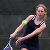 Tewksbury vs Notre Dame Academy girls tennis. NDA 2nd Singles Annika Hanson. (SUN/Julia Malakie)