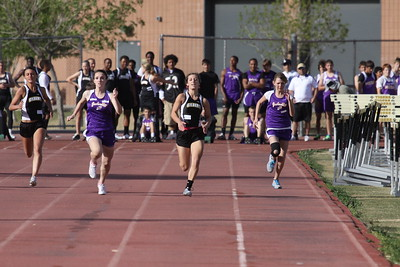 2012 GHS Track vs Mesa 3-7-12
