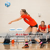 #21 Kristen Lynn pass the ball during a match between Lenoir City and Gibbs at Gibbs High School.