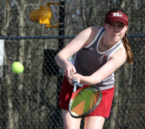 Westford Academy tennis v Weston 050118