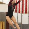 Westford Academy vs Groton-Dunstable gymnastics. Nastia Subaciute of Groton-Dunstable. (SUN/Julia Malakie)