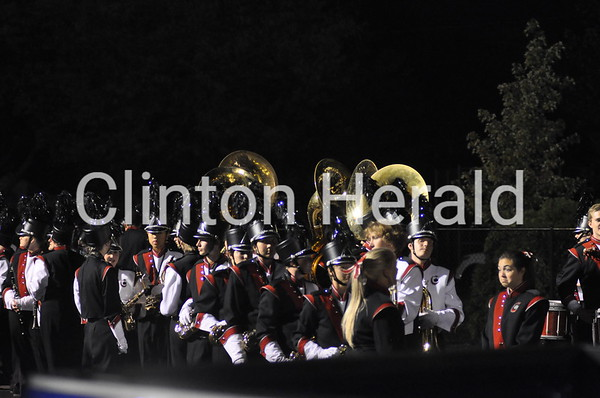 Clinton High Marching Band (10-11-13)