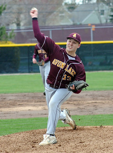 Avon Lake Nick Brady pitches Apr. 20.  Steve Manheim