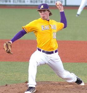 Avon's pitcher #10 Matt Eckhardt