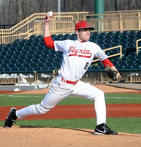 Elyria's Brad Conley pitches. STEVE MANHEIM/CHRONICLE
