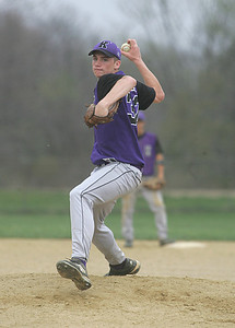 7APR10 Keystone gunner #32 Caleb Schillace had a decent game against Black River.  photo by Chuck Humel