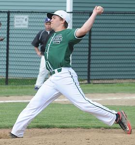 EC pitcher Joey Begany May 7.  Steve Manheim
