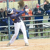 North Ridgeville's Nick Birt singles April 21. STEVE MANHEIM / CHRONICLE