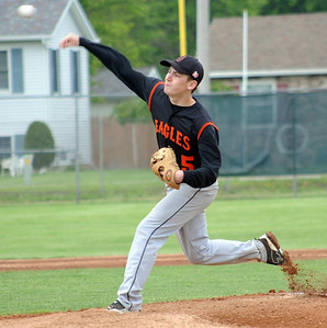 North Olmsted pitcher Kevin Tominc May 12.  Steve Manheim
