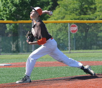 Josh Meyer pitches for Buckeye on May 15.  STEVE MANHEIM / CHRONICLE