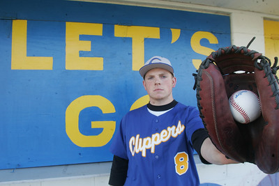 25MAR11  Clearview's Ian Mezlak, All-Ohio last year and is a dominating hitter and pitcher.    photo by Chuck Humel