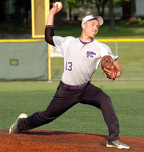Keystone pitcher #13 Brandyn Sittinger.