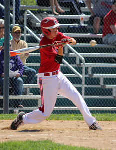Elyria's Ben Haywood bats during the All-Star game. CHRISTY LEGEZA/CHRONICLE