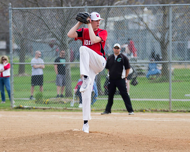 Lutheran West's Tommy Walker pitches against Columbia on Monday, April 25. JOE COLON/CHRONICLE
