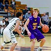 Avon's Ryan Maloy matches up against GlenOak's Cortez Simmons Sunday. JESSE GRABOWSKI / CHRONICLE