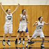 EC girls regional basketball win over Gilmour :