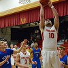 Fireland's Dominic Januzzi puts up points in their win against Open Door Saturday. JESSE GRABOWSKI / CHRONICLE