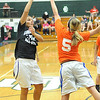 Girls all-star basketball game :