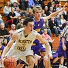Avon's Ben Yurkovich gaurds against the pass Friday in their win over Olmsted Falls. JESSE GRABOWSKI / CHRONICLE