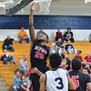 Elyria's Deviian Williams scores durring Friday's game against Solon. J GRABOWSKI / CHRONICLE